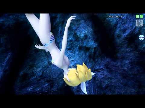 Project Diva Arcade- Deep sea girl- Rin kagamine