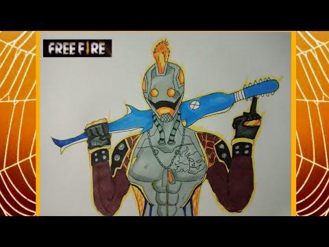 วาดรูปฟีฟาย แม็กม่าโบน (MAGMA BONE) Free fire
