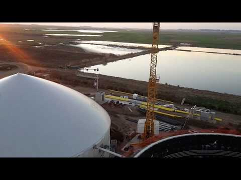 iES Energy Group // Costruzione impianto biogas / ARGENTINA 2017 (HD)