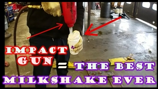 IMPACT GUN VS MILKSHAKE & SHOP COMPILATION