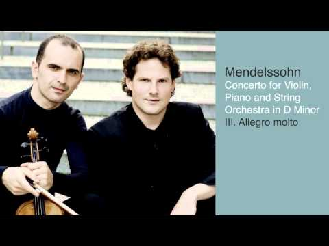 Concerto for Violin, Piano and String Orchestra in D Minor: III. Allegro molto