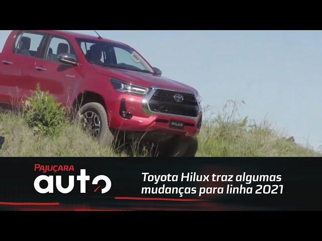 Toyota Hilux traz algumas mudanças para linha 2021