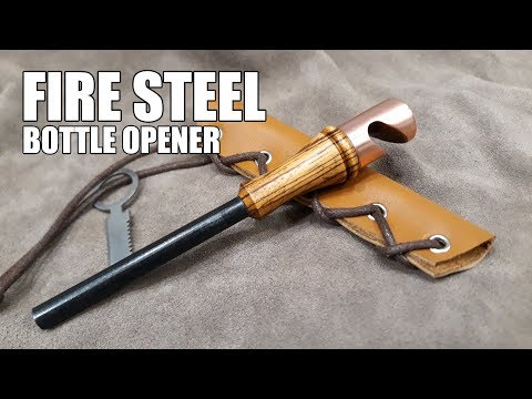 Making a Wood & Copper Bottle Opener