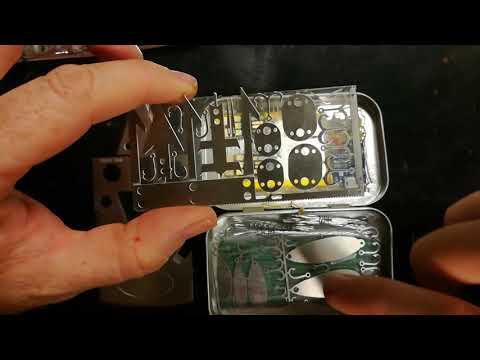 Survival Altoids tin kit. New ideas and practicality