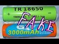 Cheap Fake Ebay 18650 Li-Ion batteries - TEST & AUTOPSY