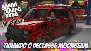 GTA V - Tunando o Declasse Moonbeam NOVO DLC LOWRIDERS