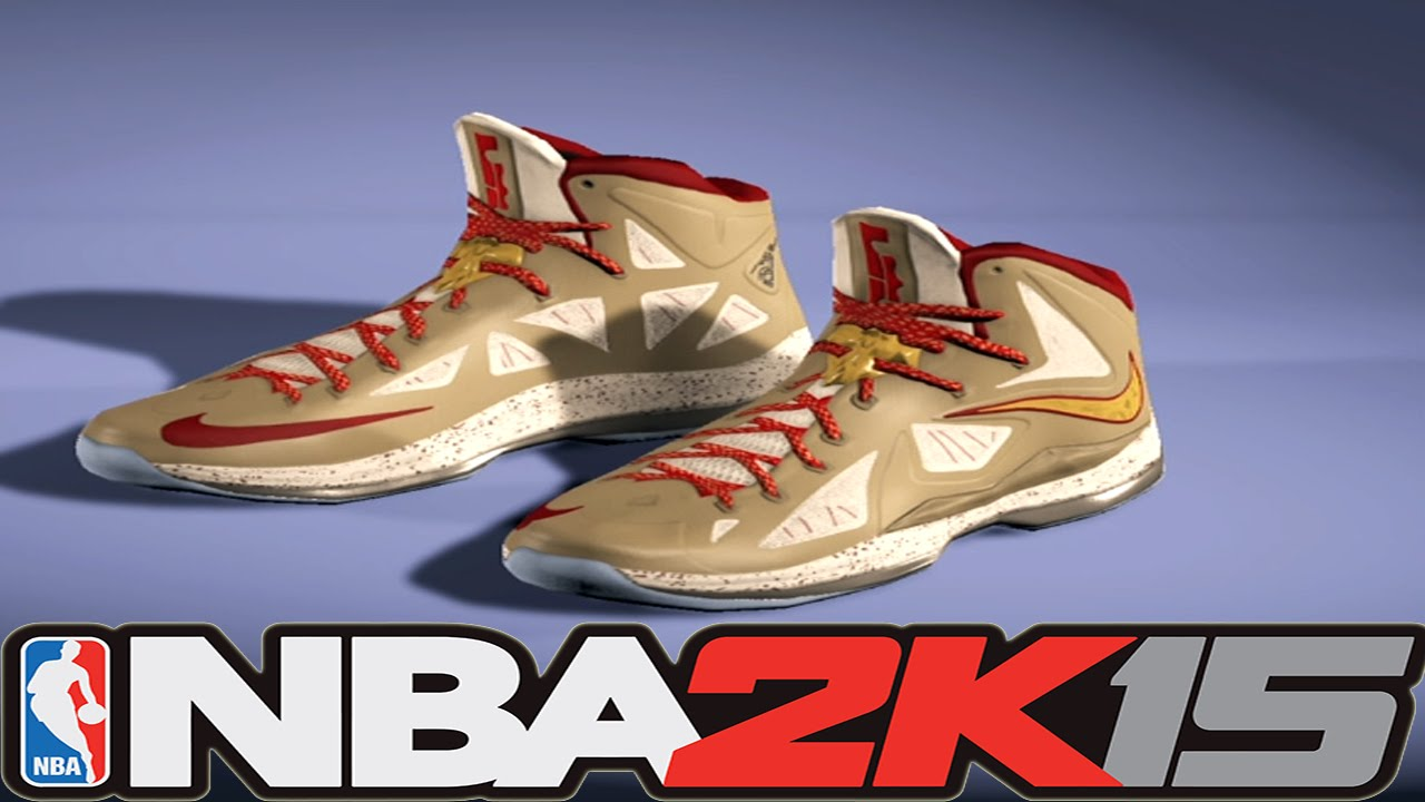 4d849f96f4df ... where can i buy nba 2k15 shoe creator nike lebron 10 ring ceremony  nba2k15 6aede 54ea2