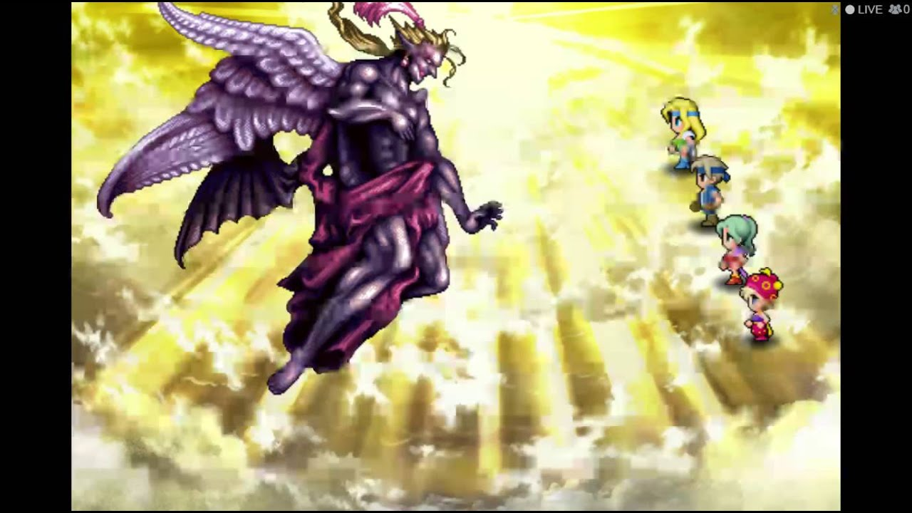 Final Fantasy VI Steam - Battle with Kefka and Ending