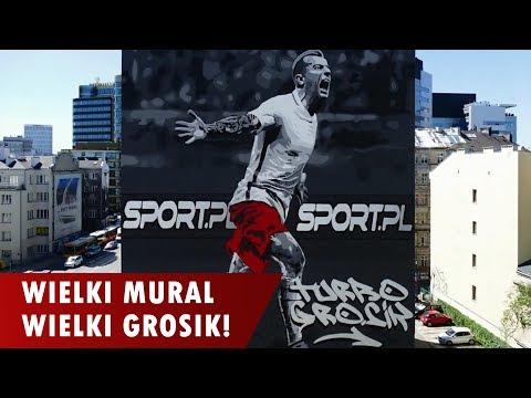 Wielki Kamil Grosicki! W Warszawie Powstały Dwa Murale!