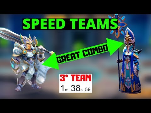 [MMEG] SPEED TEAMS WITH COOLDOWN REDUCTION Might And Magic Elemental Guardians
