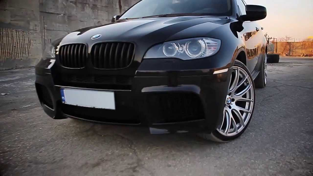 Bmw X6 On 22 Inch Wheels Youtube