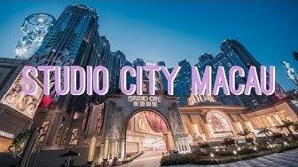 STUDIO CITY MACAU HOTEL TOUR | Cupcakes & Coasters