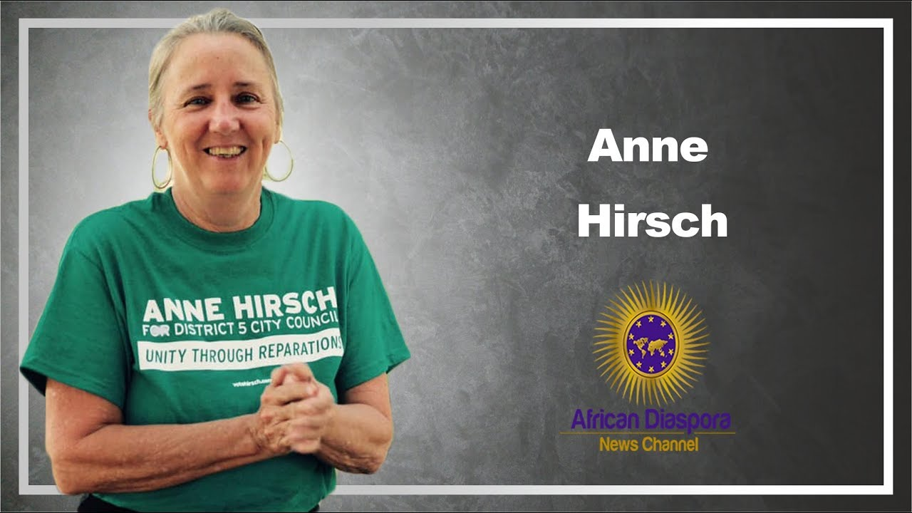 St Pete,FL District 5 Candidate Anne Hirsch Speaks On Reparations,Gentrification & Development