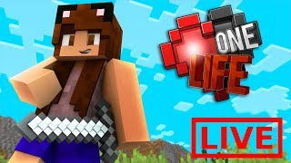 Minecraft One Life LIVE 🔴