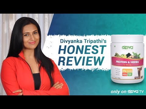famous-tv-actress-divyanka-tripathi's-honest-review-on-oziva-protein-&-herbs-for-women-|-must-watch!