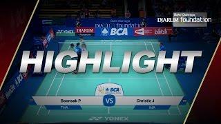 Boonsak Ponsana (THA) VS Jonatan Christie (INA)