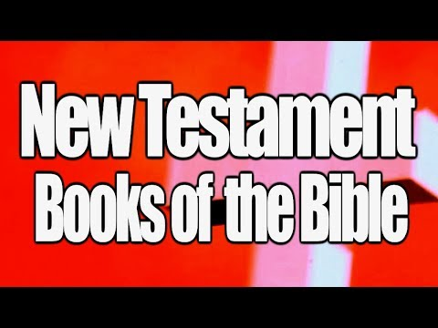 New Testament Books Of The Bible