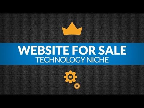 Website For Sale – $2.3K/Month in Technology Niche, Passive Income Affiliate Business