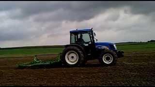 New Holland T4020 uprawa pod siew