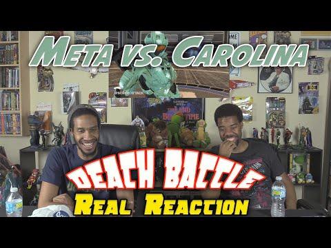 Meta VS Carolina DEATH BATTLE Real Reaction