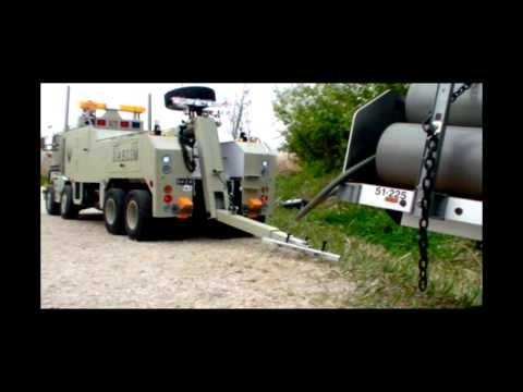 Realistic RC experience - RC 8X8globeliner Wrecker//100%Real driving