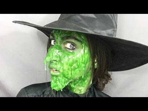 Melting Wicked Witch Of The West Prosthetics And Makeup Youtube