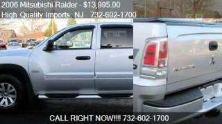 2006 Mitsubishi Raider DuroCross V8 Double Cab 4WD - for sal