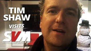 Tim Shaw (Car S.O.S) picks up his Nissan GT-R R35 from us at Severn Valley Motorsport (SVM)