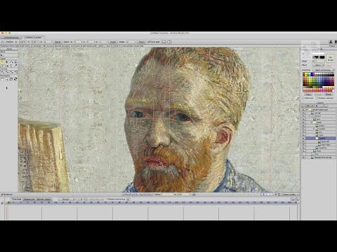 Anime Studio Pro 11 Animating Vincent van Gogh