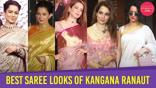 Top 8 best saree looks of Kangana Ranaut   Pinkvilla Raw   Bollywood