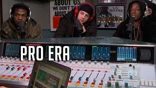 Pro Era Spit Bars on Real Late w/ Peter Rosenberg!