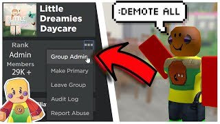 Exploiting at a Roblox Daycare | Little Dreamies Daycare