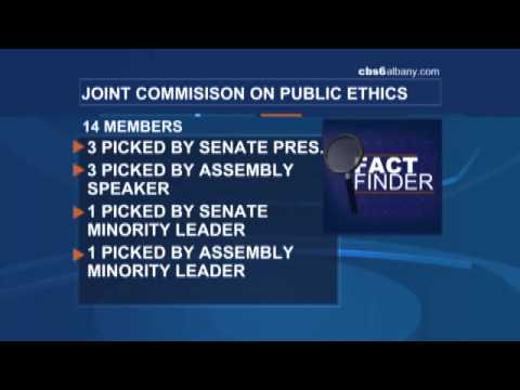 Fact Finder: JCOPE commission