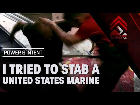 MUST SEE! I Tried to Stab a US Marine & Cop! Here are 20 Lif