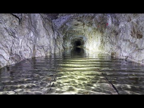 UNDER WATER exploration of an old zinc mine in Norway - PART 1