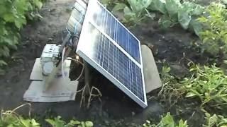 Сколько энергии за день. Тест солнечных панелей Perlight Solar PLM50P 50+50 = 100 ватт(, 2016-08-10T10:27:02.000Z)
