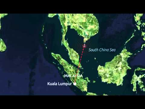 Search for missing Malaysia Airlines plane goes underwater