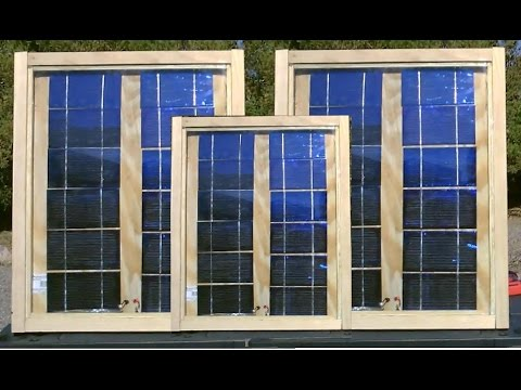How To Make Solar Panels Complete Build W Full