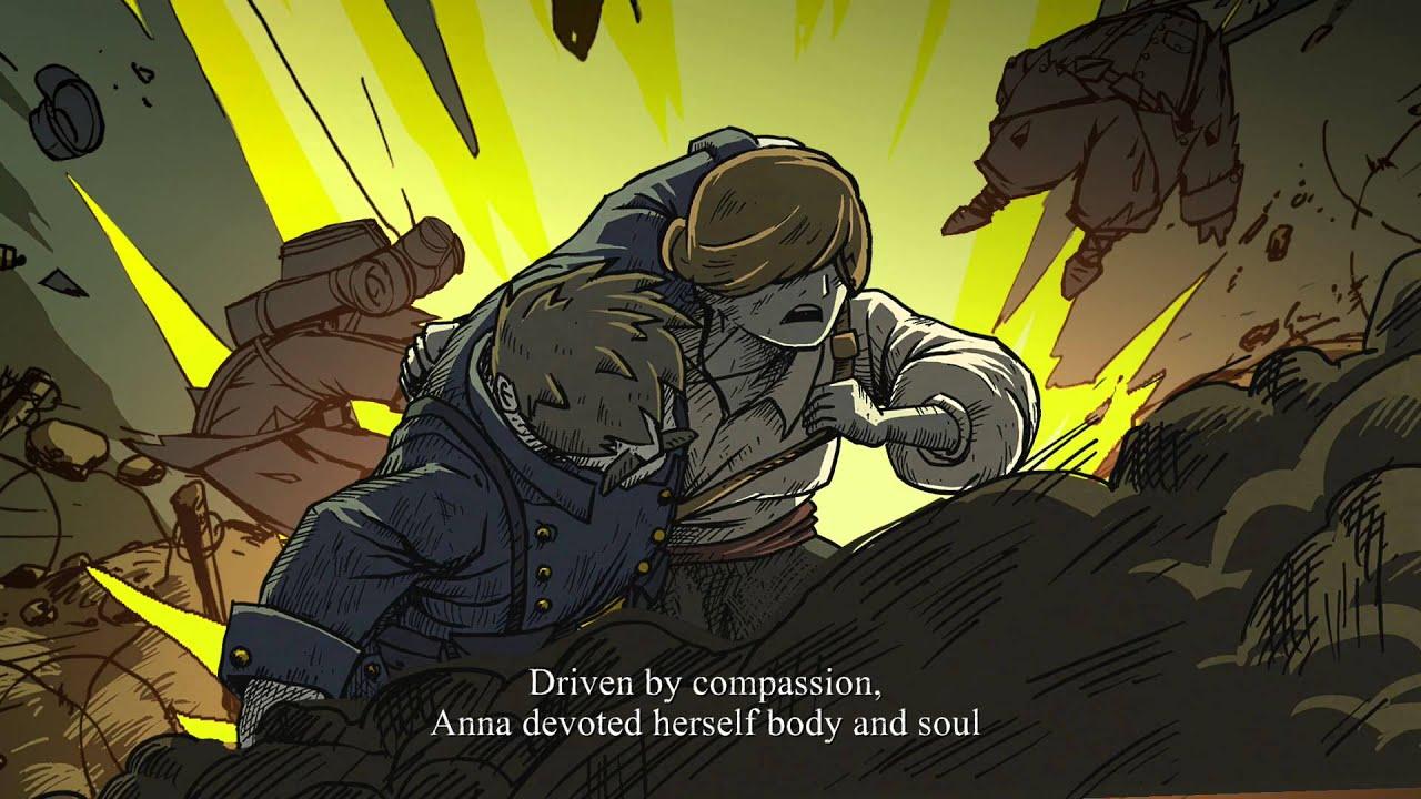Valiant Hearts Walkthrough Part 6: Anna Leaves Paris [PS4] - YouTube