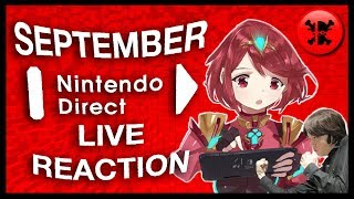 FULL LIVE REACTION to Nintendo Direct 9.13.2018 | RogersBase Nintendo Direct Reaction
