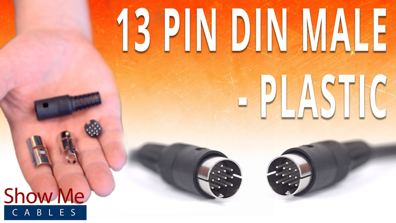 8 pin din cable wiring diagram [ 1280 x 720 Pixel ]
