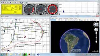 Usando o TrackMaker para Navegar em Tempo Real