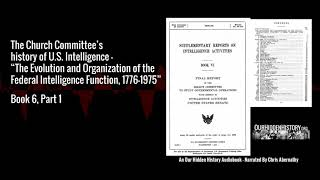 6.3.09 Atomic Energy Commission - The Church Committee's History of US Intelligence (1976)