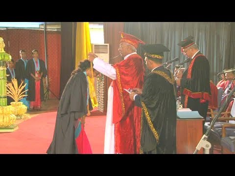 University of Colombo Faculty of Arts Convocation  2013.