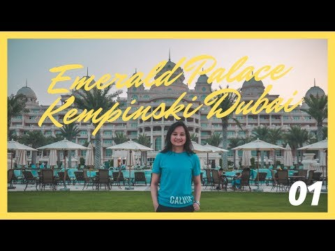 CELEBRATING MY BIRTHDAY AT EMERALD PALACE KEMPINSKI DUBAI!!!