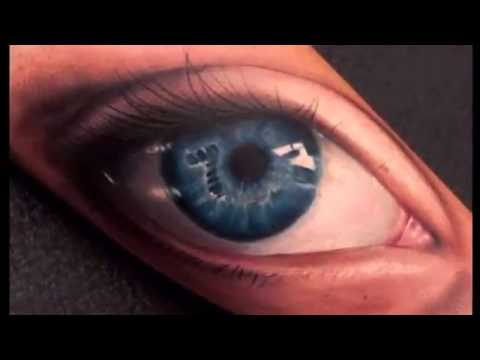 12 Striking, Stunning & Realistic Eye Tattoos -Armband Tattoo-