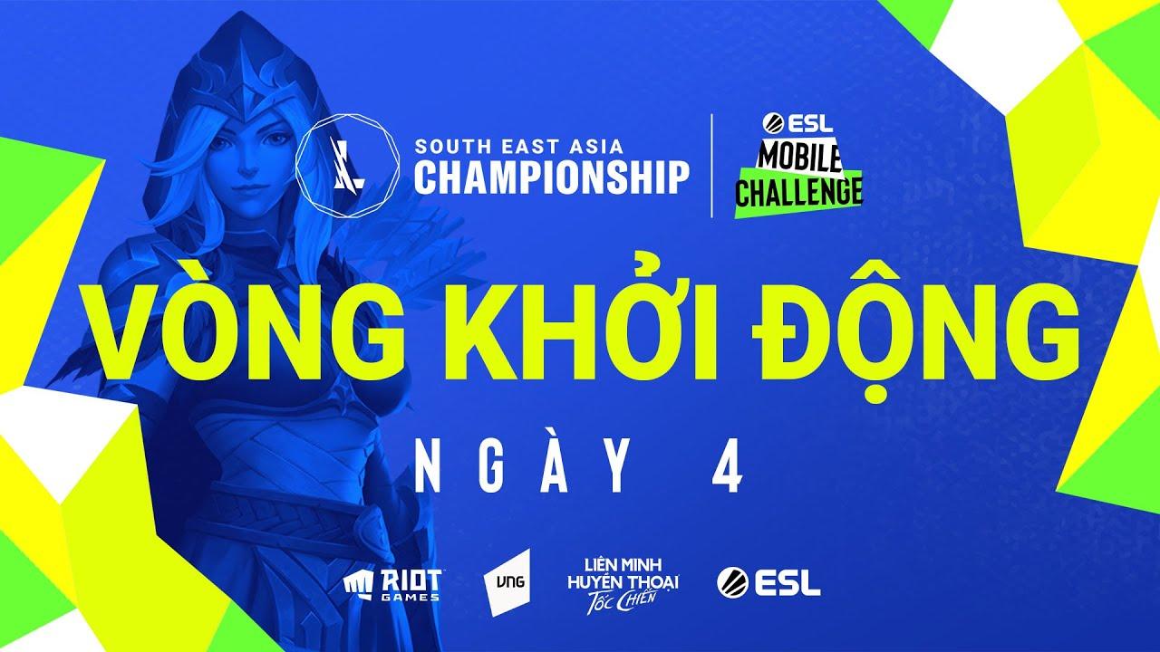 Download Vòng Khởi Động - Ngày 4   ESL Mobile Challenge presents Wild Rift SEA Championship 2021