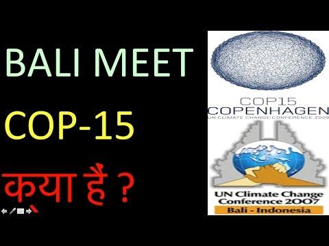 l-81 -BALI MEET AND COP-15 KYA HAIN ?