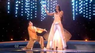 Eurovision 2010 2nd Semi - Armenia - Eva Rivas - Apricot Stone