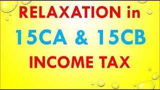 Form 15CA 15CB